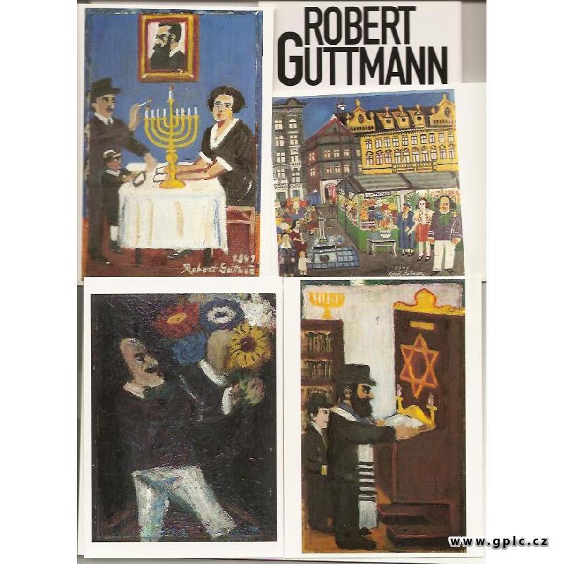 Malíř a turista/soubor pohlednic/